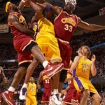 King James James Scores 37 as Cavs Sweep Kobe & the Lakers
