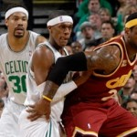 Rondo's Triple-Double Lifts Celtics over Cavaliers. Series Tied.