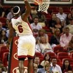 LBJ Debuts New Nike LeBron 8 V2 White/Red/Yellow Miami PE