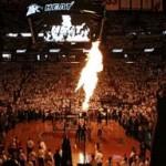 Heat Lean on Big Three. Take Game One. James Debuts LBJ8 PS.