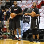 "King's Feet: LeBron Debuts Nike LeBron 8 V2 Low ""Triple Black"""