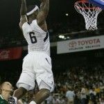 James and U.S.A. Basketball Squad Rolls Past Lithuania