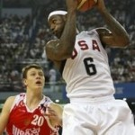 LeBron James and U.S. Team Stays Perfect in Tuneups. Beats Russia.