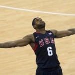 King James' All-Around Performance Helps U.S. Beat Angola