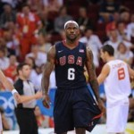 King James and U.S.A. Team Handle Spain a Blowout Loss