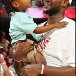LeBron James becomes a dad for a second time