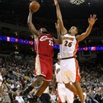 2007-08 NBA Season: CLE at GSW. A near Triple-Double.