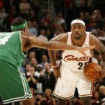 2007-08 NBA Season: CLE vs BOS. LeBron takes down the Big 3.