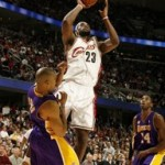 2007-08 NBA Season: CLE vs LAL. A Clutch Win.