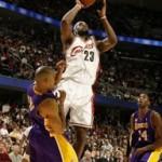 2007-08 NBA Season: CLE vs LAL. A Clutch Win.