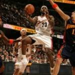 2007-08 NBA Season: CLE vs GSW, MIA, at DAL. Cavs go for 2-1.