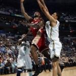 2007-08 NBA Season: CLE at NOH, vs ATL. King James Rules.