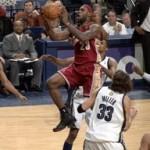 2007-08 NBA Season: CLE vs CHA, at MEM. Extra work pays off!