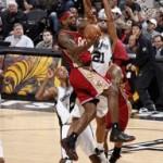 2007-08 NBA Season: CLE at SAS. Sweet Redemption.