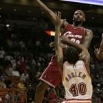 2007-08 NBA Season: CLE at MIA, vs WAS. Five in a row.