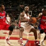2007-08 NBA Season: CLE vs LAC, BOS, at HOU, vs ATL.