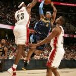 2007-08 NBA Season: CLE vs DEN, at ORL, vs SAS. All-Star Break.