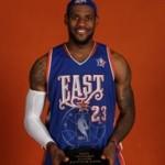 LeBron James wins MVP award in 2008 NBA All-Star Game
