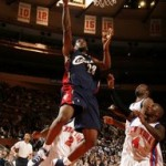 LeBron James scored FIFTY as he introduced the Yankees LeBron 5 at Madison Square Garden, New York.