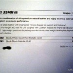 Sneaker Ingredients: Nike Air Max LeBron VIII (8) Tech Info
