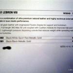 Sneaker Ingredients: Nike Air Max LeBron VIII (8) Tech Info