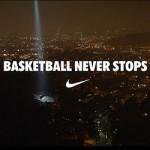 "New Nike LeBron James Commercial ""Basketball Never Stops"""