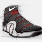 Nike Zoom LeBron IV design