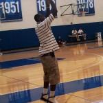 LeBron James Wearing the Air Jordan IX PE at Kentucky Campus