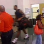 King James Wearing the Nike Air Max LeBron VII at AU