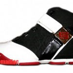 Zoom LeBron V Black/White/Red GS