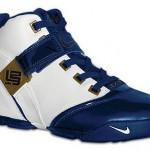 Nike LeBron V White/Navy catalog picture