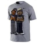 Nike Basketball MVPuppets – Kobe and LeBron Tee Available at NDC