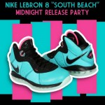 "Event: Nike LeBron 8 ""South Beach"" Release Party @ Footaction"