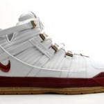 King James' 2006 Playoffs shoe arsenal