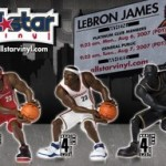 New LeBron All-Star Vinyls from Upper Deck