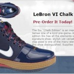 Chalk Nike Zoom LeBron VI Available at Cavaliers Team Shop