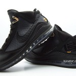 "Upcoming Black Nike Max LeBron VII aka ""Phantom"" New Photos"