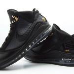 "Upcoming Black Nike Max LeBron VII aka ""Phantom"" New Photos"