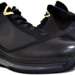 "Releasing Now: Nike Air Max LeBron VII Black/Gold aka ""Phantom"""