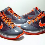 Releasing Now: Nike LeBron 7 Grey / Orange <strike>Eastbay</strike> Exclusive