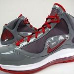 "Releasing Now: 393320-002 Grey / Red ""OSU"" Nike LeBron VII TB"