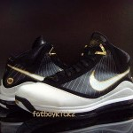 Black / White / Gold – Nike Air Max LeBron 7 (VII) Preview