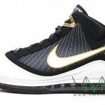 Upcoming Nike Air Max LeBron VII Black/White/Gold New Pics