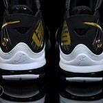 Upcoming 375664-011 Black/White-Metallic Gold LBJ7 New Photos
