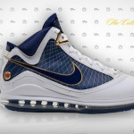 Air Max LeBron VII (7) White / Navy Official Release Date