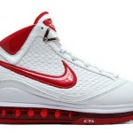 Nike Air Max LeBron VII NFW Woven White/Red Available Early