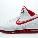 Second Look at the White / Varsity Red Nike Max LeBron VII (7) NFW
