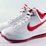 Nike Air Max LeBron VII: 383578-161 White/Varsity Red