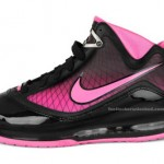 Nike Air Max LeBron VII GS Black / Pink Fire (Kids Only!)