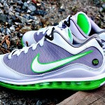 Releasing Now: Air Max LeBron VII Low White/Grey/Mean Green